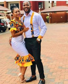 32 Chic Ways To Rock Ankara Fashion For Couples (2019) – Nigerian Wedding // Wedding inspiration website