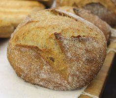 Pan del Priorat fermento agua pasas azucar