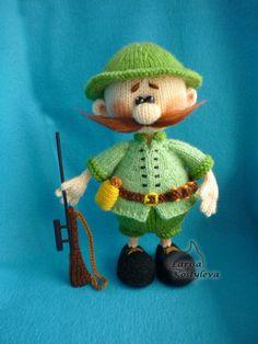 Hunter profession job knitting pattern pdf by jasminetoys on Etsy