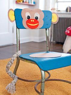 Fun monkey chair