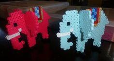 3D Elephants perler beads by Sofia A. - Perler® | Gallery by wanda