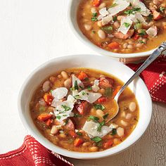 Sausage-and-Bean Stew | You're three steps away from a kid-friendly, company-worthy meal.