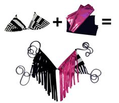 DIY Bikini Top DIY Swimwear DIY Clothes DIY Refashion