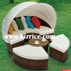 2012 Sell Rattan Outdoor Sun Lounger