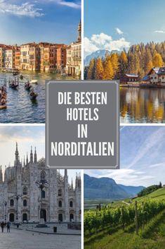 Norditalien verzaubert uns mit seinen wunderschönen Landschaften und Städten. Wer auf der Suche nach entspannenden Spaziergängen in der Natur ist, kann sich hier von der majestätischen Bergwelt und traumhaften Seen verzaubern lassen. Und in den sehenswerten Städten kann nach Herzenslust geshoppt und zahlreiche Kulturdenkmäler entdeckt werden. Entdecke die besten Hotels in Norditalien. Beste Hotels, Seen, Desktop Screenshot, Beautiful, Northern Italy, Landscapes, City, Searching, Nature