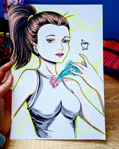 Manga girl drawing by Lictoria Manga Girl Drawing, Disney Characters, Fictional Characters, Photo And Video, Disney Princess, Drawings, Anime, Instagram, Art