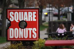 Square Donuts, Terre Haute Indiana. I've been you haven't been to Terre Haute, good thing is you aren't missing anything! lol Bad news is Square Donuts is located there, so so good!
