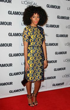Les looks des Glamour Women of the Year 2012