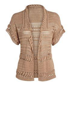 Crochet: Jacket: Handarbeiten ☼ Crafts ☼ Labores ✿❀⊱╮.•°LaVidaColorá°•.❀✿⊱╮ http://la-vida-colora.joomla.com