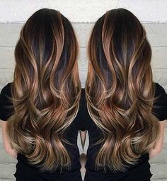 Long Layered Haircut with a Touch of Balayage