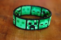Bracelet made out of 2.5mm hama beads. Medium can accommodate 9 characters, so would work well with repeats of 3 characters (or all different