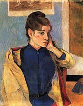 Portrait of Madeleine Bernard - Paul Gauguin