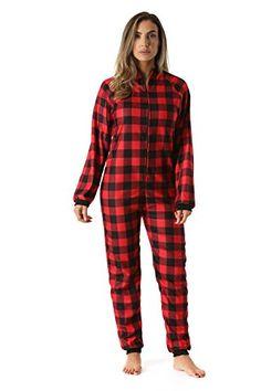 9cddf4f39 Just Love Printed Flannel Adult Onesie Pajamas