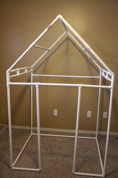 Todd & Kristy: PVC Frame Playhouse