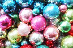 Mercury Glass Ornaments by such pretty things, via Flickr.