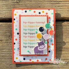Handmade Gift Tags, Greeting Cards Handmade, Card Tags, I Card, Unicorn Birthday Cards, Unicorn Cards, Simply Stamps, Congratulations Card, Animal Cards