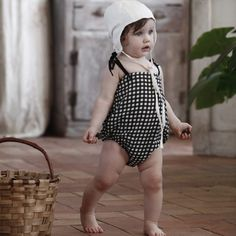 Little Creative Factory Baby Check Playsuit