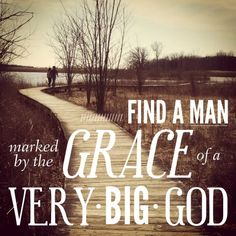 Do you know what really makes up a good man? Do you really know that his heart's relationship with Jesus Christ is infinitely more valuable than what he has and the lifestyle he is pursuing?