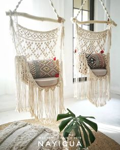 The last macrame curtain in workshop * tall macramedecor macrame macramewallhanging wallhanging walldecor…