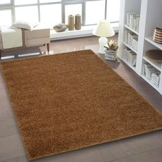 Ebern Designs Wheatley Light Brown Area Rug Rug Size: x Diy Carpet, Modern Carpet, Rugs On Carpet, Carpet Ideas, Carpets, Cheap Carpet, Affordable Carpet, Brown Carpet, Beige Carpet