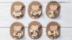 Birthday Treats, Birthday Party Themes, Hedgehog Treats, Food Policy, Kawaii Dessert, Valentine Box, Food Humor, Baby Crafts, Craft Activities