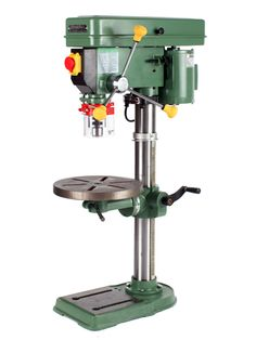Ranking: ★ ★ ★ ★ Price: $350 Amps: 3.5 Horsepower: 1/2 Swing: 13-1/4 inches Steel-drilling time: 9.63 seconds Likes: The General proves that not all 1/2-hp drill presses are created equally. This machine provides a nice combination of speed and power, making it a good choice if you drill primarily metal, with the occasional foray into woodwork. We also liked its impeccable fit and finish, onboard chuck-key storage, worklight, and laser crosshairs. Dislikes: The spring-loaded…