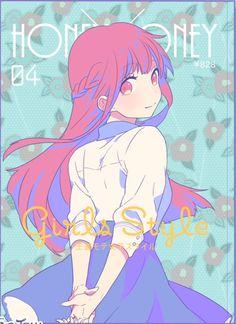 Hayasaka Akari | Honeyworks Kawaii Anime, Anime Girl Neko, Kawaii Cute, Manga Girl, Girls Characters, Manga Characters, Anime Kunst, Anime Art, Yuno Gasai Anime