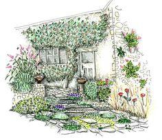 comment amnager un petit jardin tout en longueur diy pinterest gardens and flowers