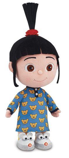 Amazon.com: Despicable Me 2 Bedtime Agnes Plush: Toys & Games