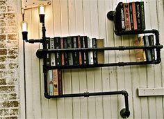book shelf | new world of arranging books with the heavy-duty Industrial Bookshelf ...