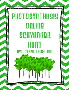 Students learn about photosynthesis in this webquest!