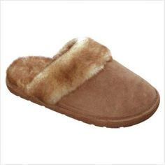 35eb78969 Lamo Women s Scuff Faux Sheepskin Free Shipping. Lamo Suede Scuff slipper  with FAUX sheepskin