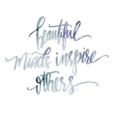 beau minds inspire others @inshaalkhizar.