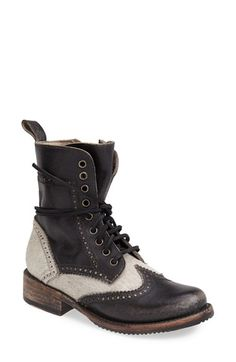 Free shipping and returns on Freebird by Steven 'Canyon' Calf Hair Boot (Women) at Nordstrom.com. Brogue details extend the vintage appeal of a rugged, hand-distressed calf-hair boot.