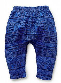Baby Boys Pants & Shorts   Aztec Harem Pant   Seed Heritage
