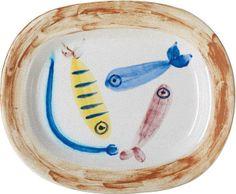 PHILLIPS : Pablo Picasso, Quatre poissons polychromes (Four Multicoloured Fish)