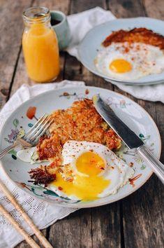 "Crispy ""Sichuan"" Potato Cakes and Eggs | The Woks of Life"