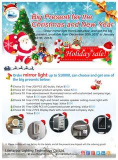 Big Present for the Christmas and New Year! Sample Contact: sylvia@liteharbor.com http://www.liteharbor.com/ #Liteharbor #LED #Lighting #CommercialLightingFactory #ChinaFactory #ChinaSupplier #FactoryCustom #Sample