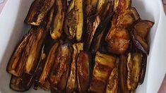 Aubergines uit de oven – Koken met Aivie Keto, Eggplant, Bacon, Breakfast, Recipes, Free, Morning Coffee, Food Recipes, Rezepte