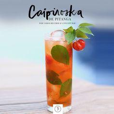 Caipiroska de Pitanga (Foto: Karen Hofstetter)