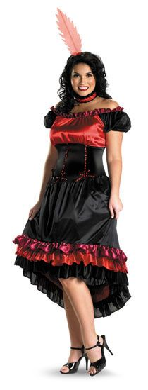 Can Can Cutie Adult 22-24, Halloween Costumes