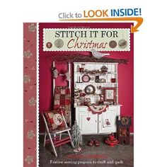 Stitch It for Christmas: Amazon.co.uk: Lynette Anderson: Books