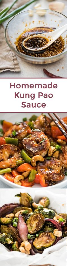 Homemade Kung Pao Sauce - Chinese Sauce | Stir Fry Sauce | Chinese Food | Chinese Recipes | Asian sauce