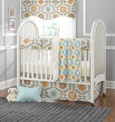 Liz and Roo launches its baby bedding collections and offers twin bedding sets