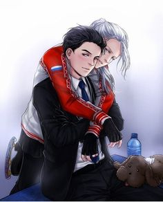 Coach Yuri and Young Skater Vitya
