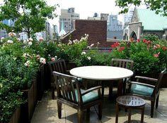 Roof top garden vk.com