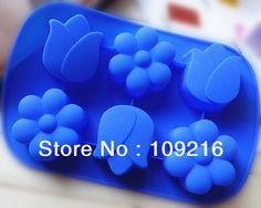 Aliexpress.com : Buy 1pcs 6 Holes Tulip  Small Flower Green Good Quality 100% Food Grade Silicone Cake/Pudding/Jelly/Ice/Candy Baking Pan DIY mold from Reliable Silicone cake and ice  mold suppliers on Silicone DIY Mold and  Home Supplies Store $8.08 Ice Candy, Ice Molds, Diy Cake, Diy Molding, Cake Mold, Small Flowers, Baking Pans, Food Grade, Tulips