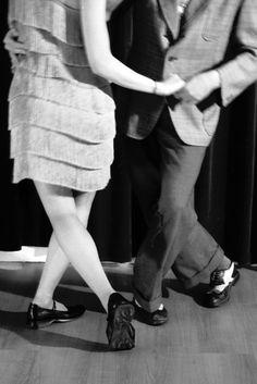 Lindy Hop dancers, c. 1950s.