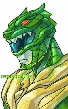 002 - Green Ranger by theCHAMBA on @DeviantArt