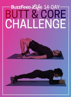 Take BuzzFeed�s 14-Day Butt And Core Challenge